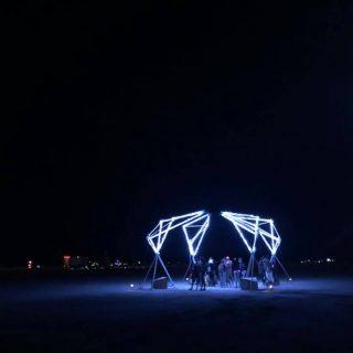 Ethereal Fleeting at Burning Man 2018